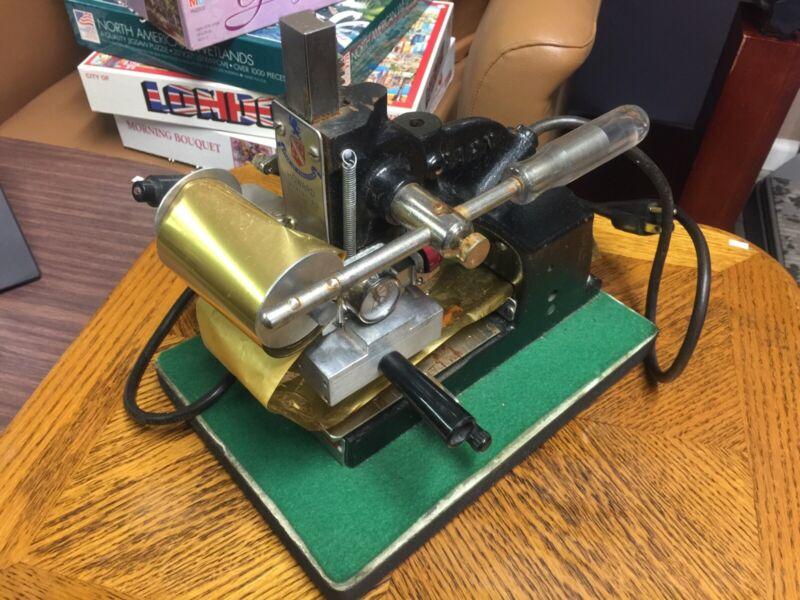 Howard Imprinting Machine Hot Foil W/ Foil Model J-100-A