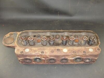 Oliver Tractor Cylinder Head 550 Super 55 White 2-44 180602 102379a