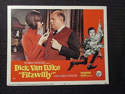 "1968 FITZWILLY Original 14x11"" Lobby Card #8 VG+ 4.5 Dick Van Dyke"