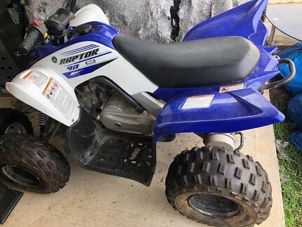 2016 90cc Yamaha raptor