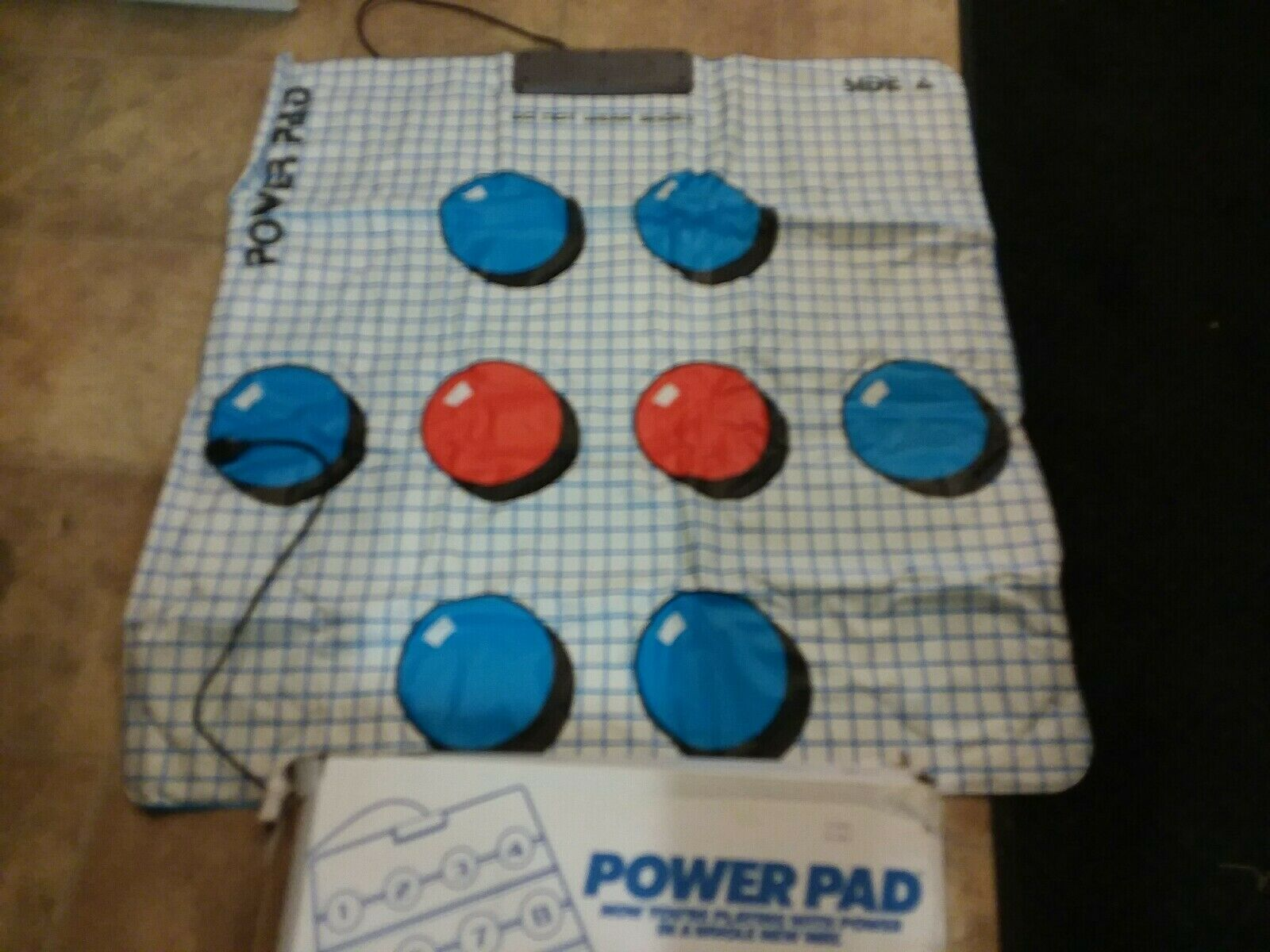 Vintage 1988 Original Nes Nintendo Power Pad Accessory Controller Running Mat  - $40.00