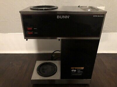 Bunn Commercial Coffee Maker Vpr Series 33200-0001 12-cup 3 Pots