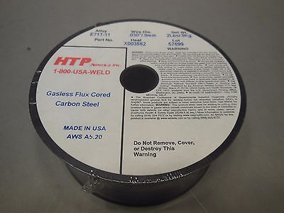 2lb .030 Flux Cored E71t-11 Gasless Steel Mig Weld Wire