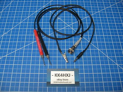Custom Vtvm Probe Set - Assembled - Bkeicoknightrcapaco Meters More
