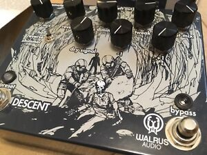 Walrus Audio Descent shimmer reverb