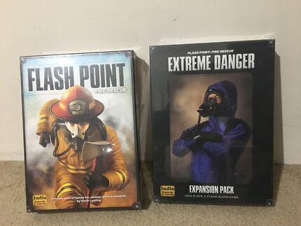 BNIB Flash Point: Fire Rescue & Extreme Danger Expansion Boardgame