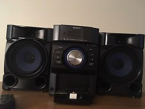 sony stereo perfect condition used twice