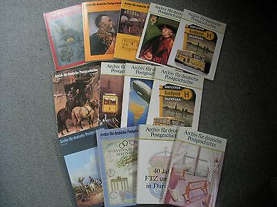 Archiv für Postgeschichte+Poster+Landkarten
