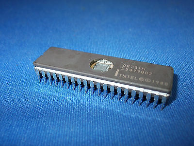 D8751h Intel D8751 Vintage 40-pin Cerdip Windowed Collectible Rare Last One