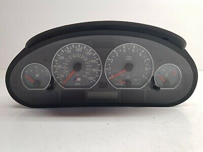 Genuine BMW Manual Speedometer Instrument Clocks Fits 3 Series E46 M3 (Genuine Part Speedometer)
