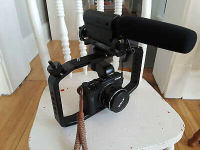 Canon EOS M3 24.2 Mirrorless Camera Filming Rig Setup