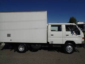 Toyota Dyna Dualcab with tailgate Loader Welshpool Canning Area Preview