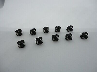 10 Pack Lot 6x6mm 2 Pin Bottom Push Touch Tactile Momentary Micro Button Switch