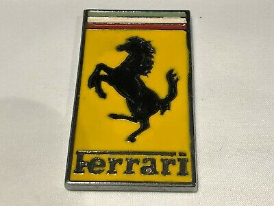 Ferrari  Bonnet  Badge / Emblem 58 x 32 mm unused