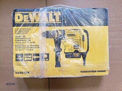 Dewalt D25553k 1-916 Spline Combination Hammer Kit