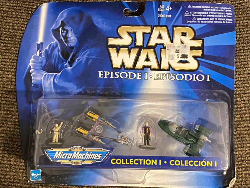 1998 Galoob Star Wars Episode 1 Micro Machines Collection I Mini Figures NEW