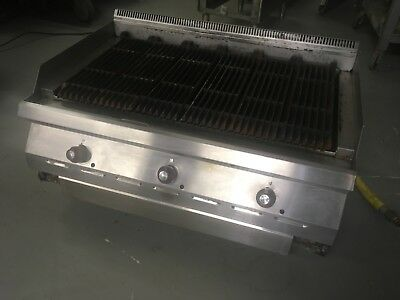 Garland Gd36rb Charbroiler Countertop Gas Grill 36w