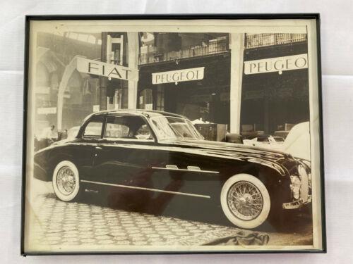 Original Vintage Bugatti Photograph Framed