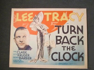 Turn Back The Clock -   Original  Title  Card   -  Tracy - The Three Stooges