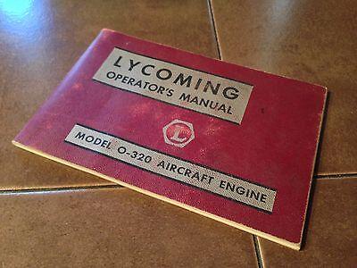 Lycoming O-320  Engine Operator's Manual