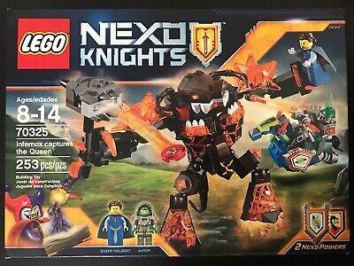 LEGO NEXO KNIGHTS 70325 Infernox captures the Queen NISB New & Sealed