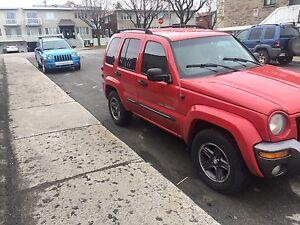 Jeep Liberty 4x4    2004   175km clean automatic pour 2800$