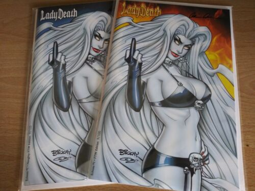 Lady Death Echoes 1. FTW Editions. Matched #9