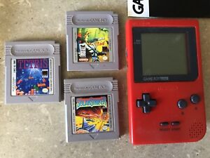 Gameboy Pocket with 3 games $40