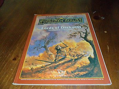 Advanced dungeons & dragons Forgotten realms lords of darkness