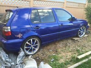 1994 VW MK3 Golf 4 door-*Rebuilt Diesel Engine*