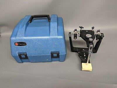 Denar Dental Articulator Model 1101003-1 With Hard Case Please Read B1