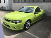 2005 Ford XR6 BA MkII Utility (Toxic Green) Fawkner Moreland Area Preview