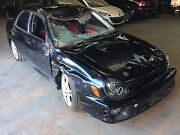 Wrecking 2001 Subaru Impreza wrx sedan Adelaide CBD Adelaide City Preview
