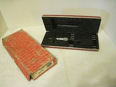 Starrett Depth Gage 440z-6rl In The Box And Its Case From A Local Estate