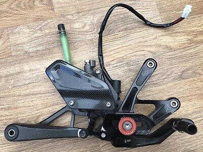 <em>YAMAHA</em> R1 GILLES TOOLING RIGHT REARSET REAR BRAKE MASTER CYLINDER 2CR