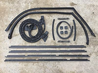 Chevy El Camino Tailgate - 78 - 87 Complete El Camino Door Tailgate Weatherstripping Seal Kit 17 pc
