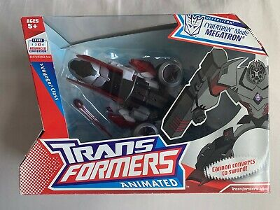 Hasbro Transformers Animated Voyager Class Cybertron Mode Megatron