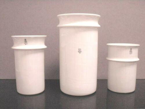 Langenthal Swiss Porcelain Laboratory Beakers - Or As Beer Mugs Or Unusual Vases