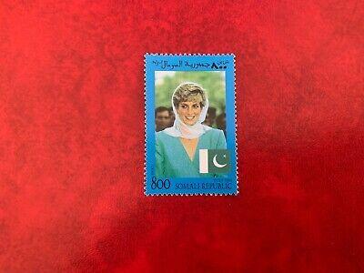 SOMALIA 1998 MNH PRINCESS DIANA MEMORIAM & FLAG OF PAKISTAN