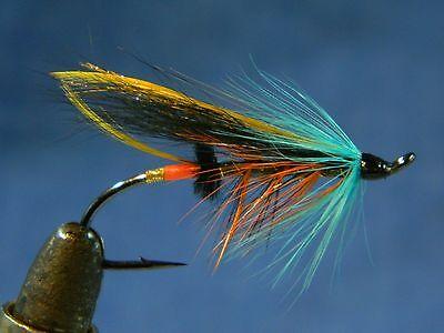 Classic flies Atlantic salmon fly fishing - Thunder and lightning North America (North Atlantic Salmon)