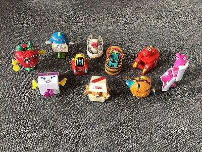 Lot 10 VTG McDonalds Toys Food Happy Meal Transforming Figures 80s-90s Changable