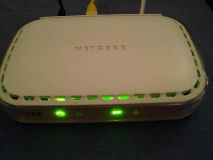 Wired Netgear router