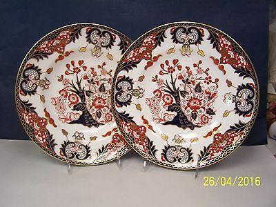 Royal Crown Derby - DERBY JAPAN ( 2 ) Dinner Plates   # A 1336