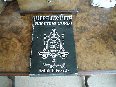 HEPPLEWHITE AND CHIPPENDALE TWO VINTAGE REFERENCE BOOKS 1949 AND 1965