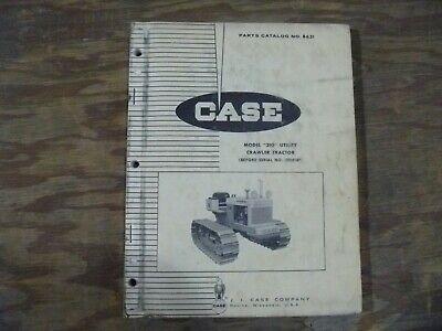 Case 310 Utility Crawler Tractor Factory Parts Catalog Manual Book Sn 3008187