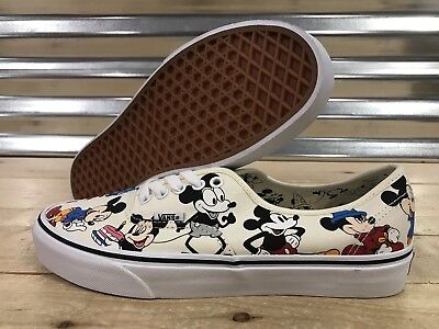 Vans x Disney Mickey 90th Birthday Authentic Skate Shoes SZ 9 ( VN0A38EMUJ2 )