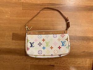 Authentic Louis Vuitton Accessories Pochette Monogram Multicolor Purse