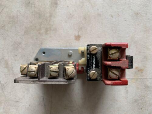 Genuine Sylvania 5S and TB139-1 Contactor / Starter Coil, NOS