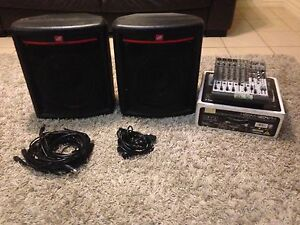 DB Powered Speakers and Behringer Mixer Moriac Surf Coast Preview