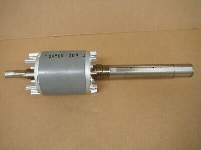 Bridgeport Cnc Part 2hp Rotor Assembly Motor Shaft M12501 Hard To Find New